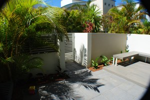Cronulla Beach Side Villa Garden