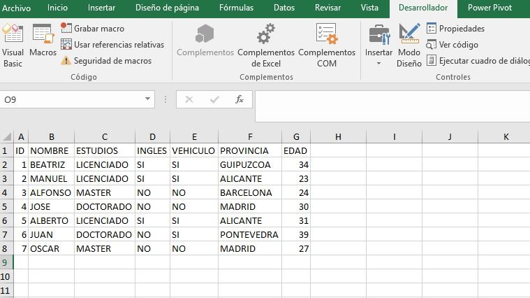 EXTRAER REGISTROS ÚNICOS CON UNA CONSULTA SQL USANDO DISTINCT