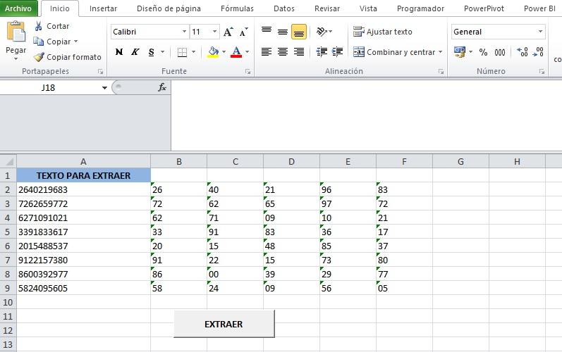 EXTRAER DATOS DE UNA CADENA DE TEXTO DE DOS EN DOS O MAS CARACTERES2