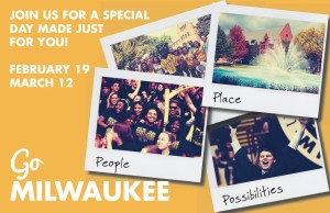 Go Milwaukee Mailer - Front
