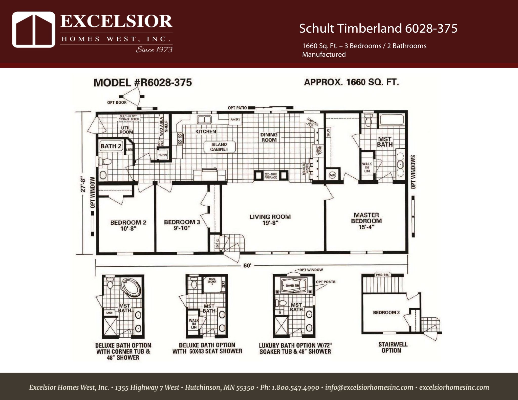 Schult Timberland 6028375 ModularManufactured Home