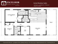 Schult Modular Cabin | Excelsior Homes West, Inc.