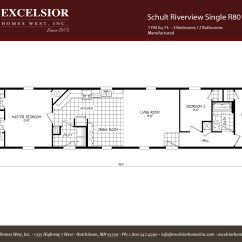 Schult Mobile Home Wiring Diagram Painless 55 Chevy Riverview Singlewide 204 Excelsior Homes West Inc