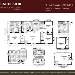 Under Cabinet Shelving Kitchen Loans Schult Freedom 405 Modular/manufactured | Excelsior Homes ...
