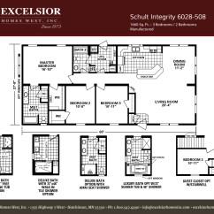 Under Kitchen Cabinet Lighting Options Mosaic Tile Backsplash Schult Integrity 508 Modular/manufactured   Excelsior ...