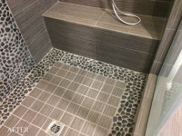 Pebble Rock Shower Cleaning / Excel Stone and Tile Care