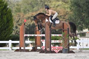 Shannon Eckel Jumping Aiken