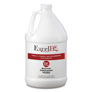 ExcelEQ with Omega 3, Vitamin E, and Anti-inflammatory Equine Supplement