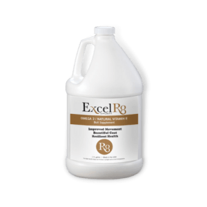 ExcelR8 1 Gallon Jug Camelina Oil Livestock Supplement