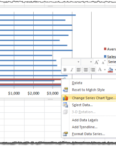 Change series chart type also how to add  vertical line horizontal bar page of rh exceltactics