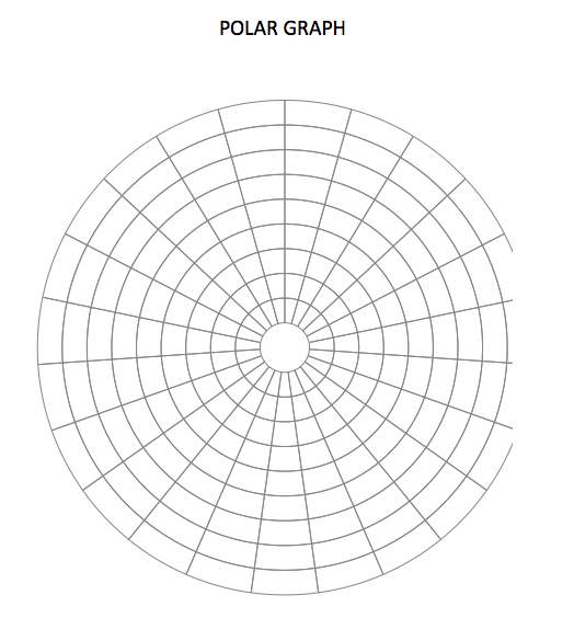Polar Graph Paper Template » ExcelTemplate.net