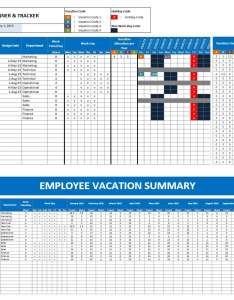 Employee vacation planner for excel also rh exceltemplate