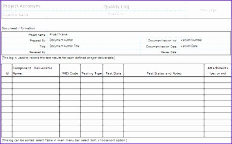Quality Assurance Excel Template Images  Template Design