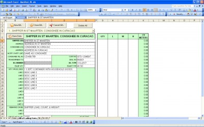 Most support dei, but don't know how to implement it. Bill Of Lading Excel Bill Of Lading Template