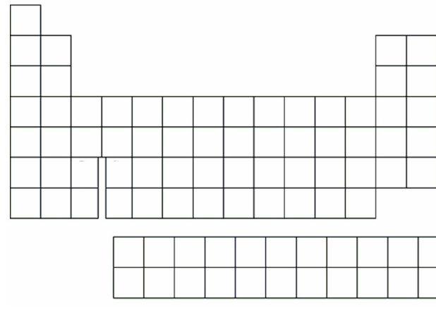 Printable periodic table 2013