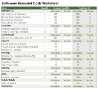Bathroom Remodel Cost Calculator | Bathroom Remodel Calculator