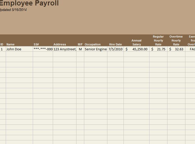 Employee Payroll Tracker