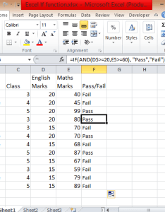 Excel if functions also how to use statement multiple conditions range and or rh exceltutorialonline