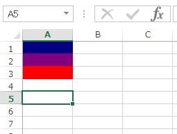 QBColor 関数 使用例