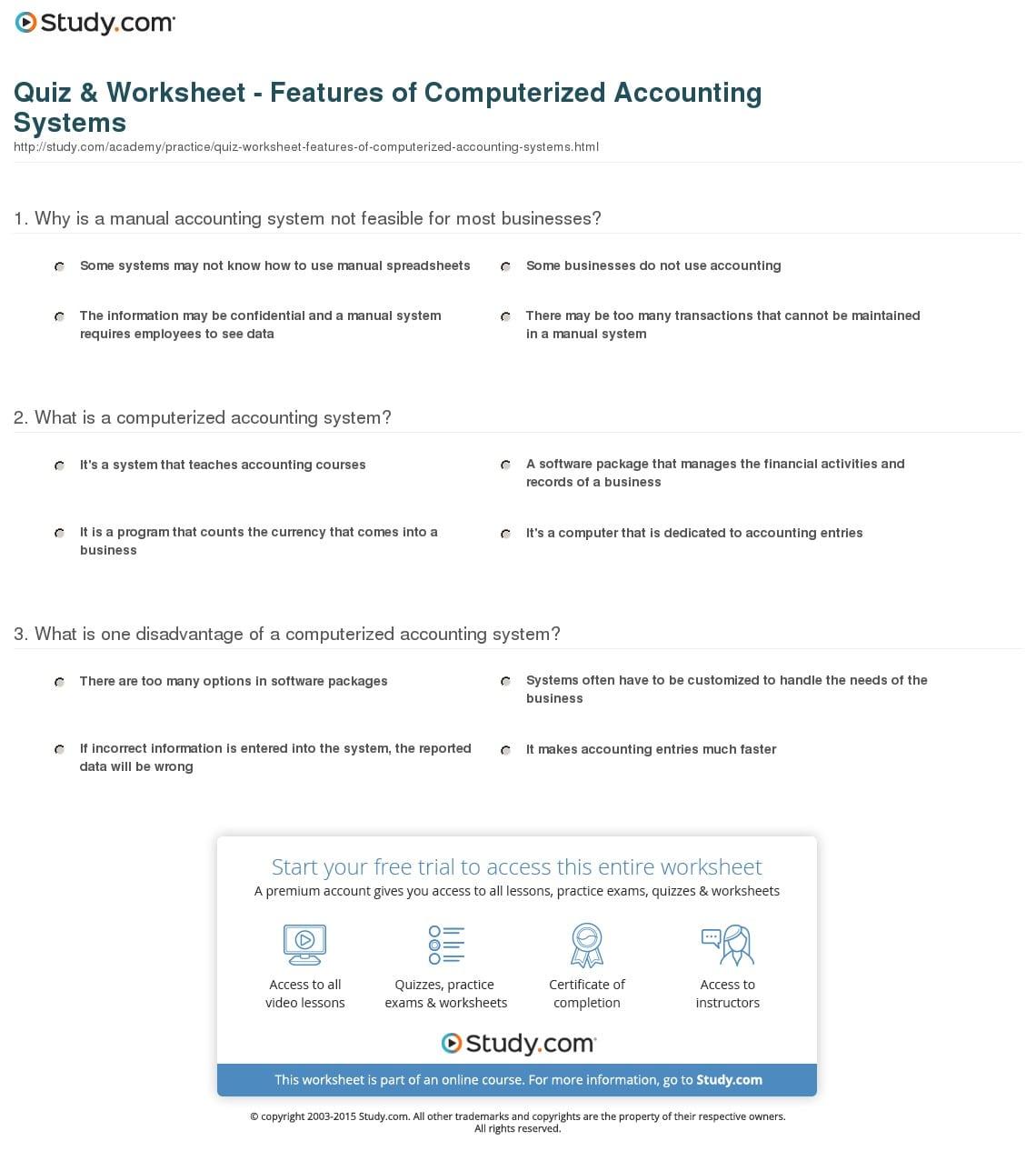 Blank Accounting Worksheet
