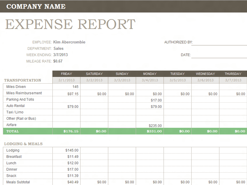 business expense spreadsheet template free - April.onthemarch.co