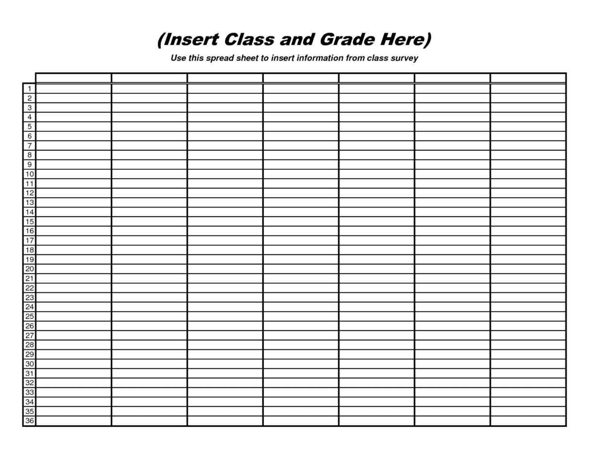 Free Blank Spreadsheet Downloads 1 Data Spreadsheet