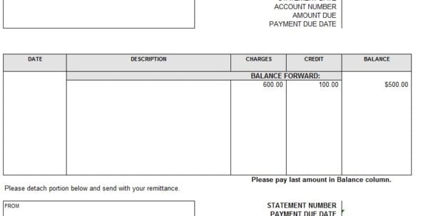 account receivable template account receivable aging report free