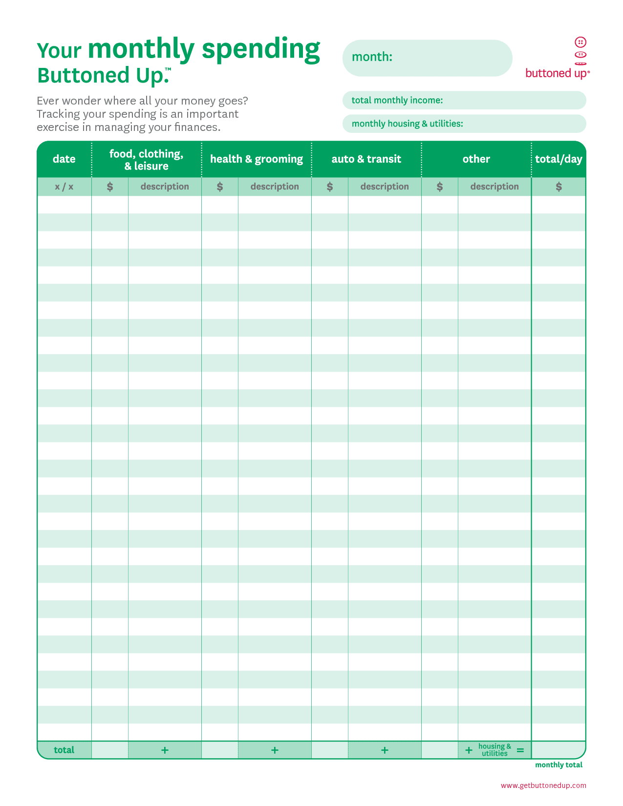 Spreadsheet Template Page 30 Free Accounting Worksheets