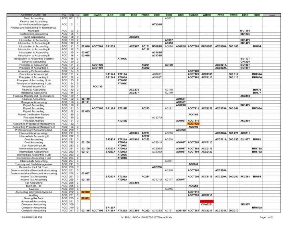 Free Accounting Spreadsheet Templates Excel1 Accounting