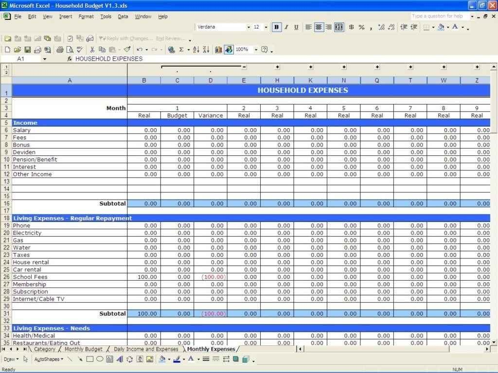 Project Tracking Sheet Excel Template 2