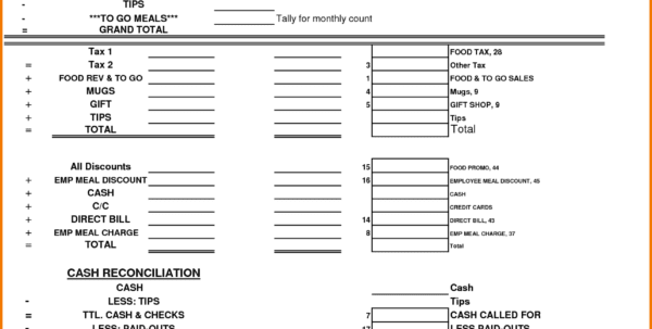 Blank Expense Report Form Microsoft Expense Report