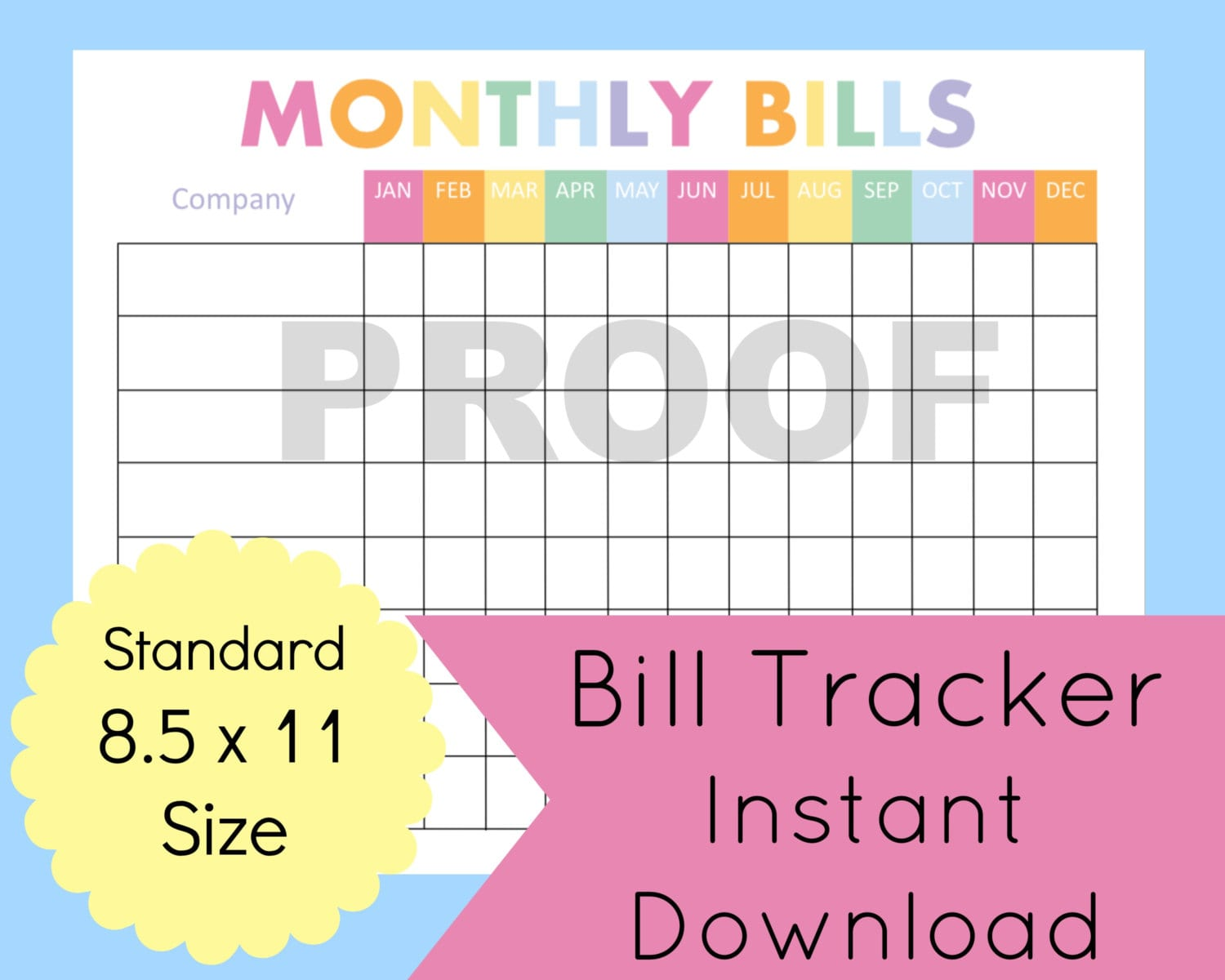 Budget Planner Template Monthly Financial Planning Finance Spreadshee Free Budget Software