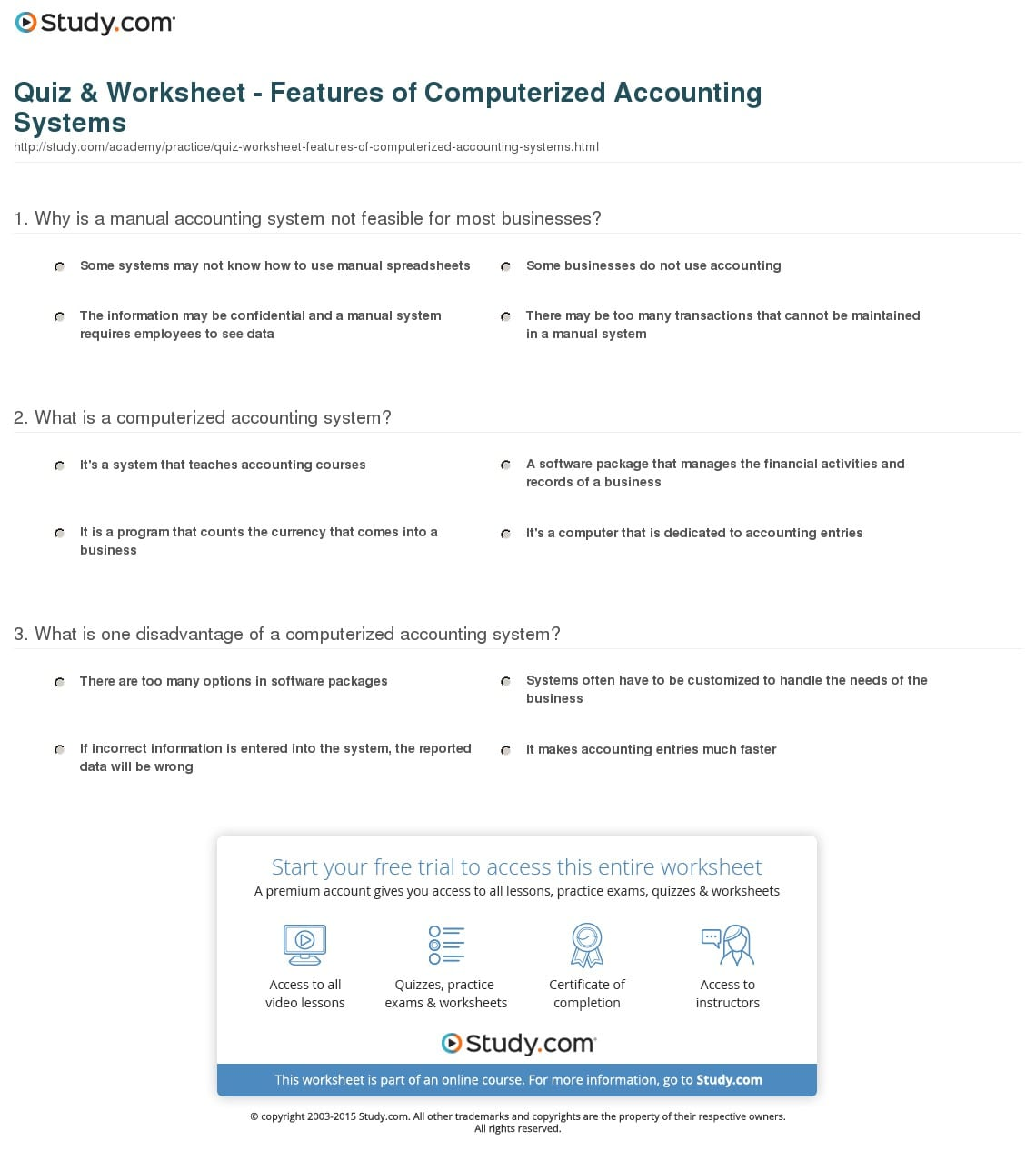 Blank Accounting Worksheet 1