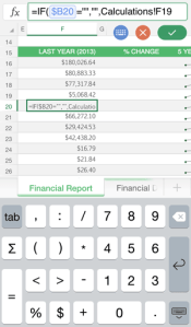Excel App Edit Cells