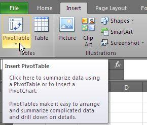 Excel Skills - Pivot Tables