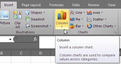 Excel Skills - Charts