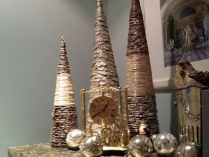 Christmas Decor gold