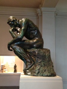 The Thinker copyright Shelagh Donnelly