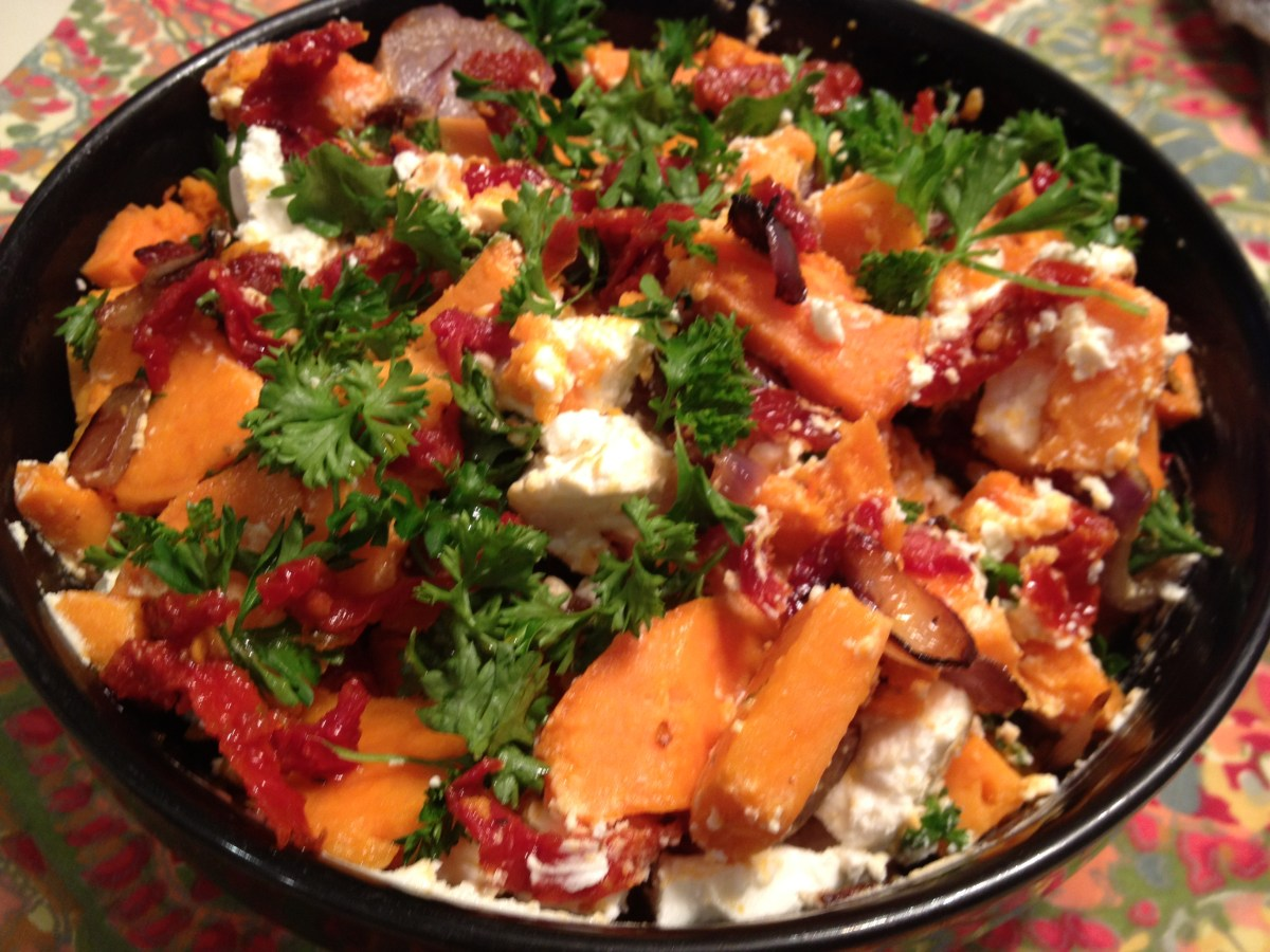 Rustic Yam Salad - Exceptional EA in the Kitchen