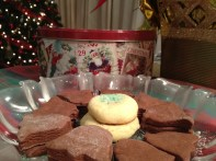 Refrigerator cookies copyright Shelagh Donnelly