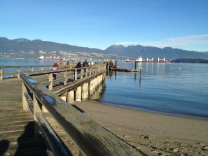 Jericho Beach Copyright Shelagh Donnelly