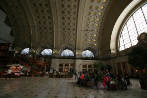 Union Station; arrive in style