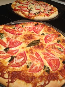 Pizzas fresh from oven 193 Copyright Shelagh Donnelly