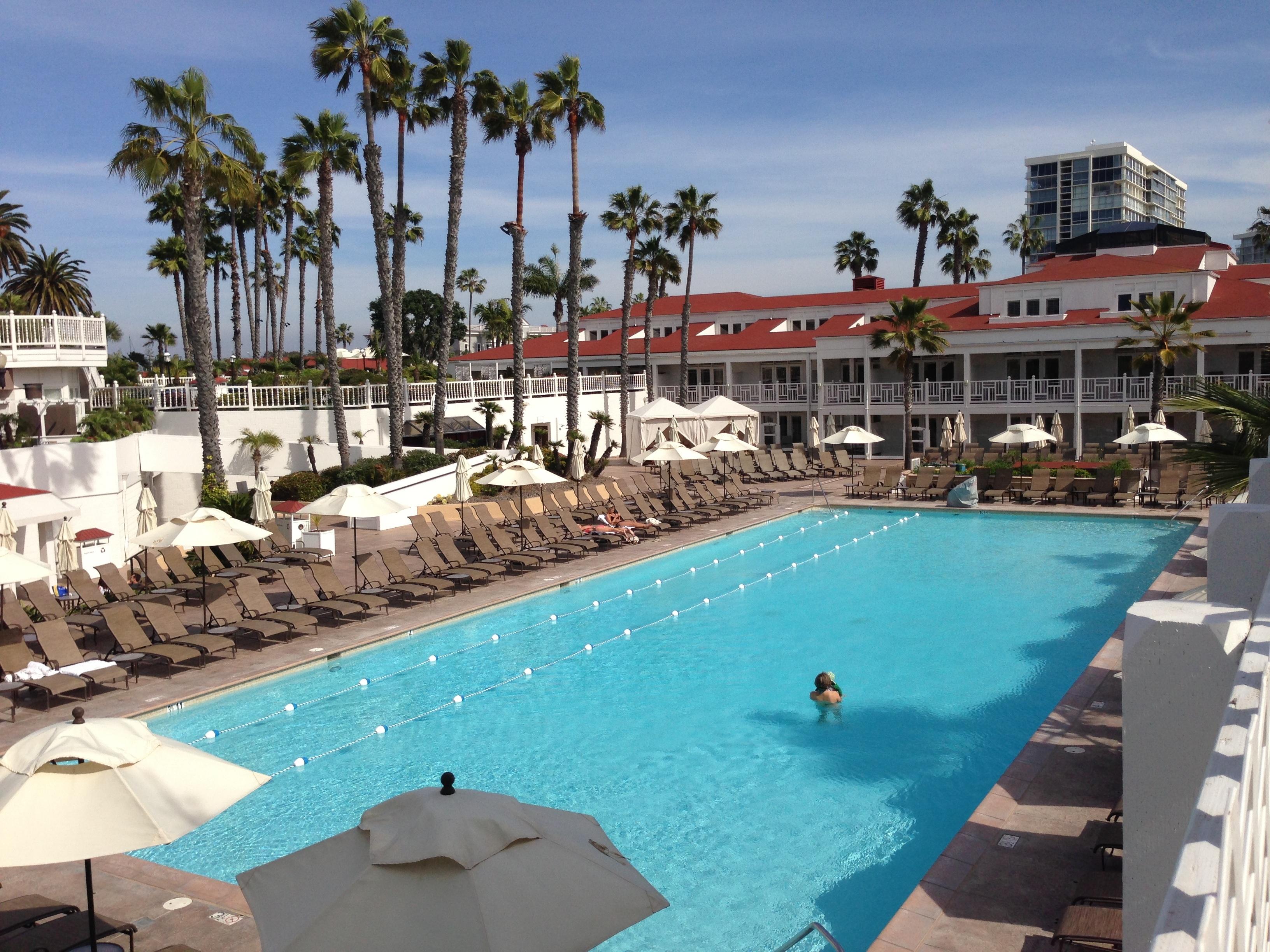 Hotel Del Coronado Pool Copyright Shelagh Donnelly