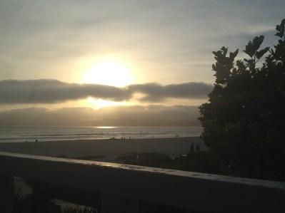 The sun sets on Coronado