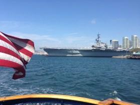 Enjoy a boat ride to Coronado Island