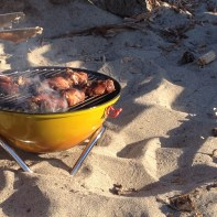 BBQ on the Beach Copyright Shelagh Donnelly