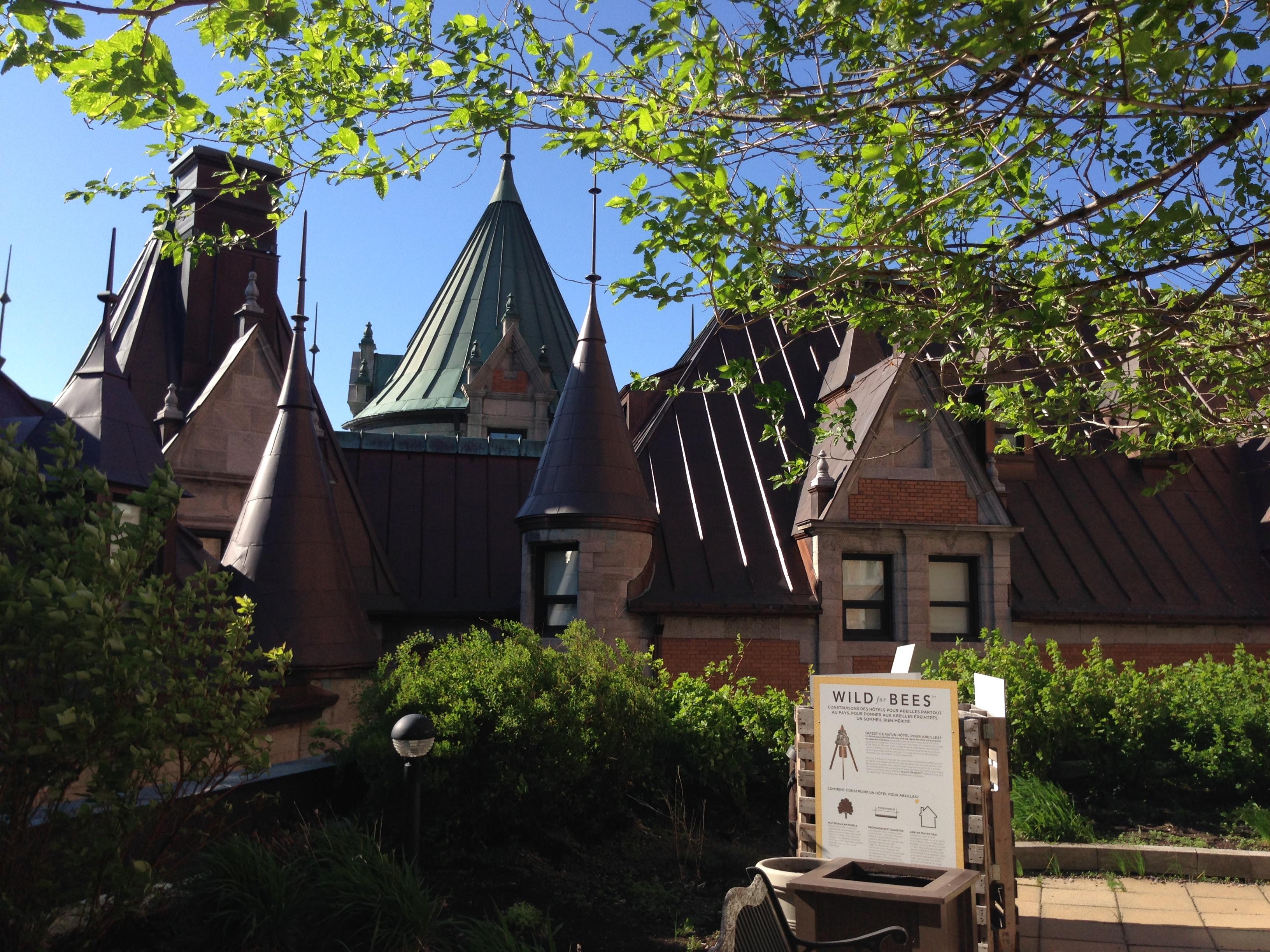 Fairmont Le Château Frontenac Copyright Shelagh Donnelly