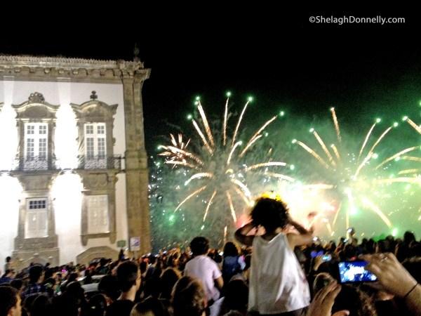 Porto Fireworks Copyright Shelagh Donnelly