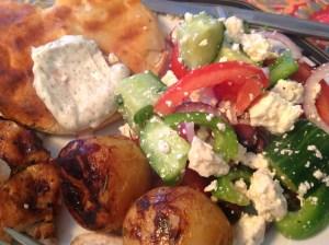 Greek Salad etc 3612 Copyright Shelagh Donnelly
